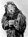 Publicity photo of American entertainer Bert Lahr, promoting his role as the Cowardly Lion in the 1939 feature film, @Cite{The Wizard of Oz.