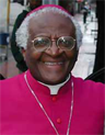 Archbishop Desmond Tutu, chairman of the Truth and Reconciliation Commission of the Union of South Africa