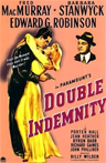 Theatrical poster for the 1944 film Double Indemnity