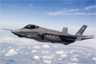 An F-35 Lightning II joint strike fighter test aircraft AA-1 undergoes flight testing over Fort Worth, Texas