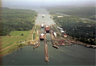 The Gatun Locks of the Panama Canal