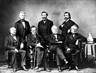 The impeachment managers for the impeachment of U.S. President Andrew Johnson