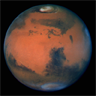 Mars as seen by the Hubble Telescope