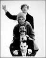 The Marx brothers: Chico, Harpo, Groucho and Zeppo