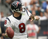 Matt Schaub, as quarterback for the American football team known as the Houston Texans
