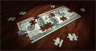 A U.S. 100-dollar bill made into a jigsaw puzzle