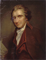 Thomas Paine, considered one of the Founding Fathers of the United States