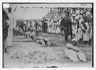 Navy vs. Marine Corps tug of war in Vera Cruz, Mexico ca. 1910-1915