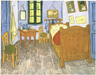 Vincent's Bedroom in Arles, by Vincent Van Gogh