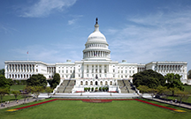 The U.S. Capitol Building, seat of both houses of the legislature