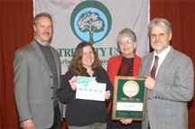 The Town of Wescott, Wisconsin is recognized as Tree City 2005