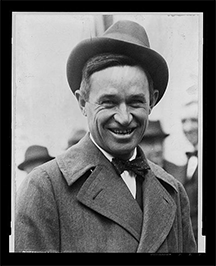 """Will"" Rogers, humorist and cowboy philosopher"